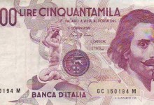 billete italiano